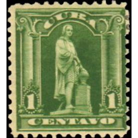 Old and rare vintage collectible Cuba Single Stamps 1899 to