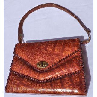 Buy   Sell vintage Cuba Alligator Leather Handbag   Cuban Alligator ... c8a903d0793c8
