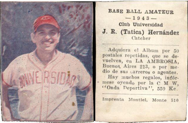 Buy Sell Vintage Cuba La Ambrosia Baseball Amateur Trading