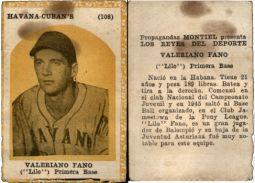 Old and rare vintage collectible Cuba Propagandas Montiel